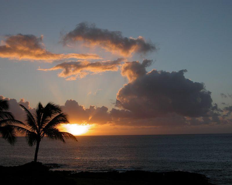 Kauai Sunrise 1280x1024