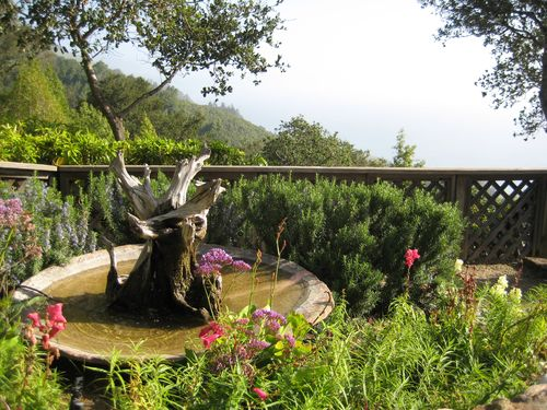 Big Sur Ventana Fountain