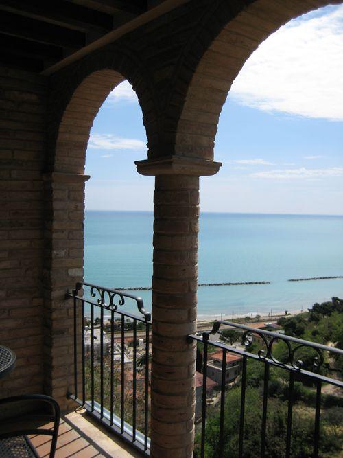 Bedroom views of the Adriatic