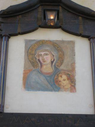 Byzantine Madonna & child