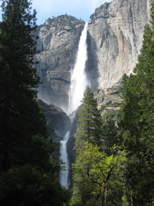 Yosemite Falls Long View