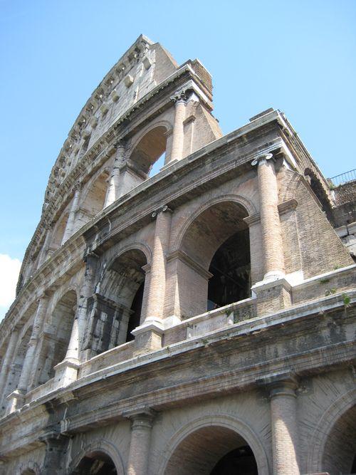 Coliseum side view