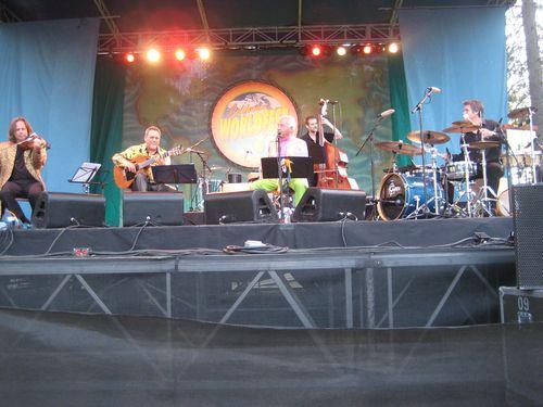 World Fest Doc Severinsen center stage
