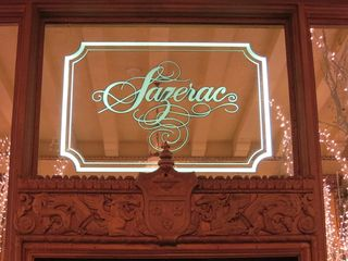 Sazerac Bar Sign