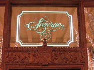 Sazerac Bar Sign