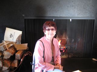 Big Sur Ventana Mom fireplace