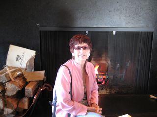 Big Sur Ventana Mom fireplace